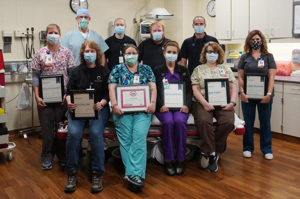 Edge, RN Honored as Heartsaver Hero 1