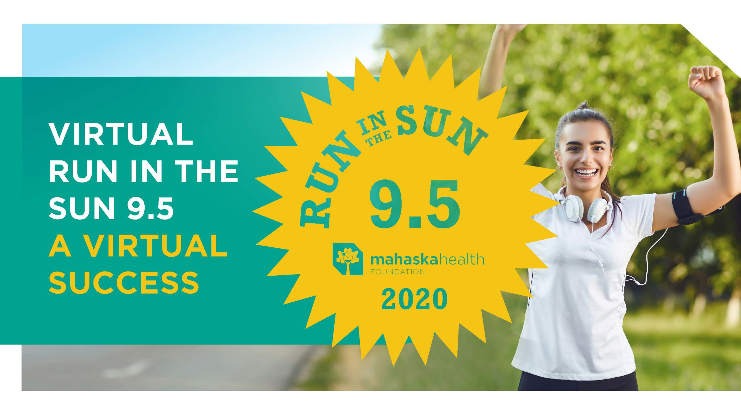 Mahaska Health Foundation's Run in the Sun 9.5 a 'Virtual' Hit 1