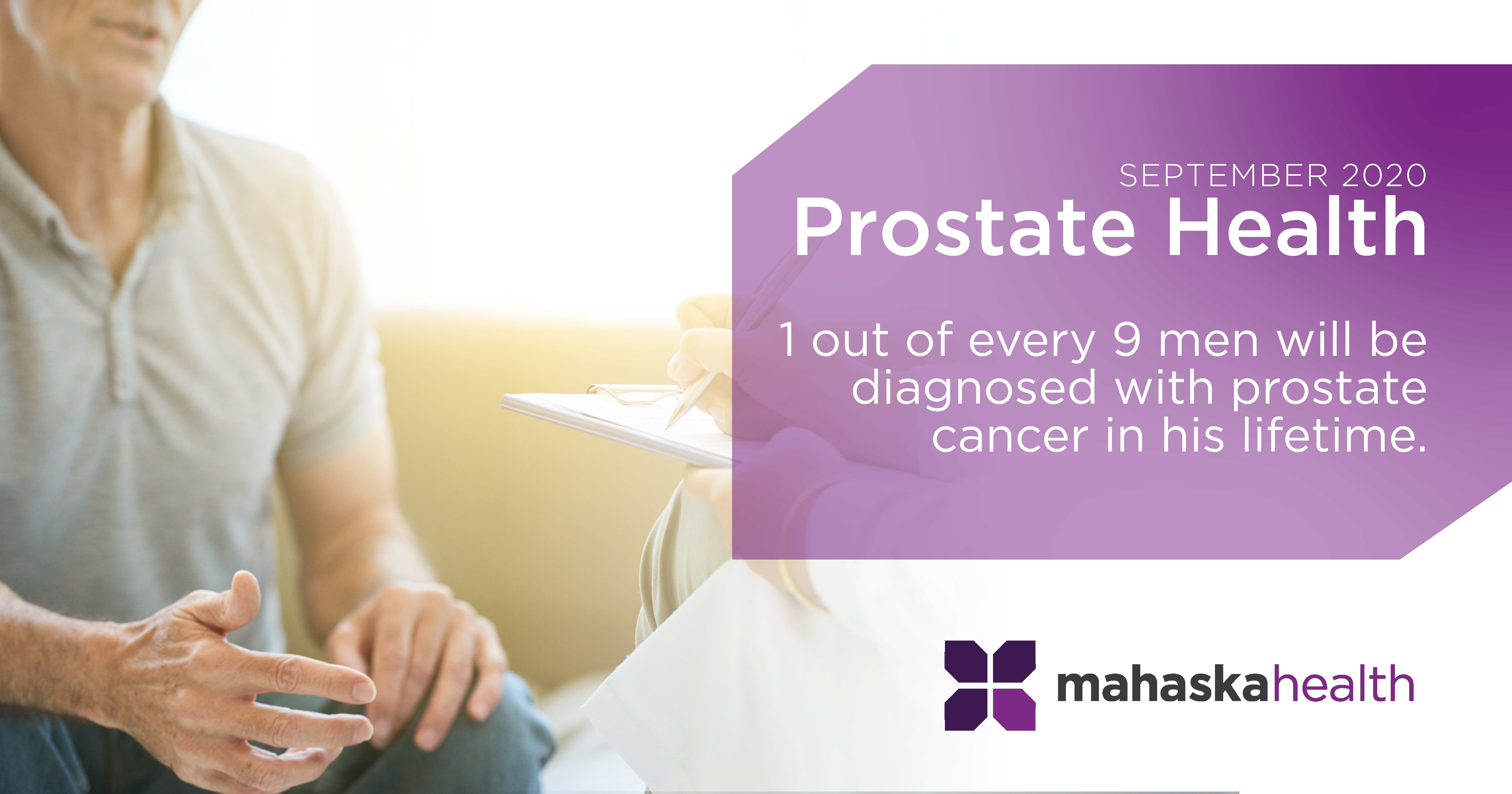 Prostate Health Awareness Month 1