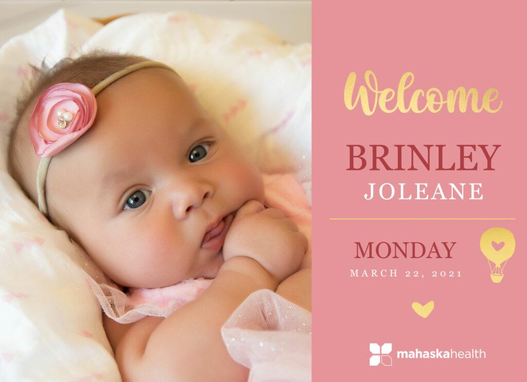 Welcome Brinley Joleane! 6