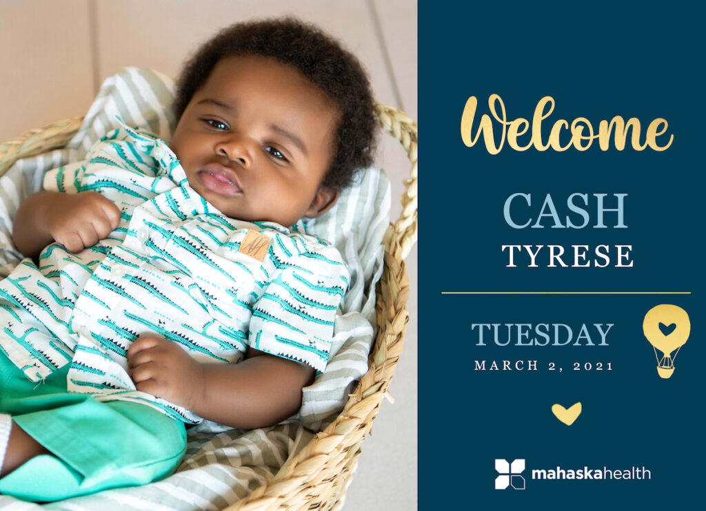 Welcome Cash Tyrese! 6