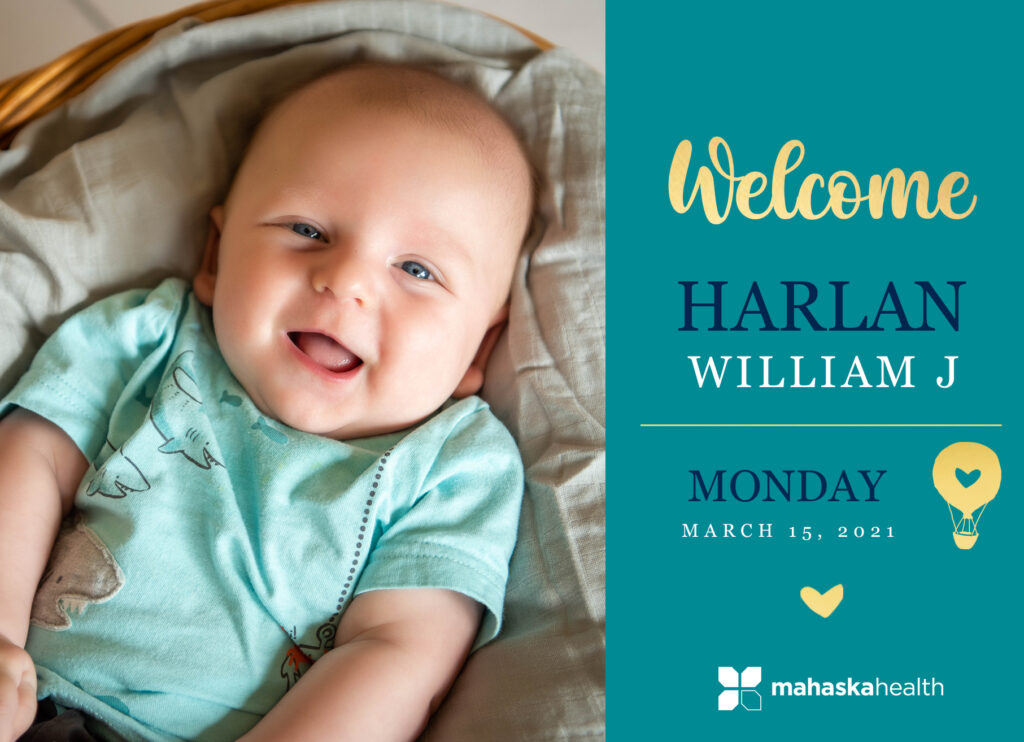 Welcome Harlan William! 6