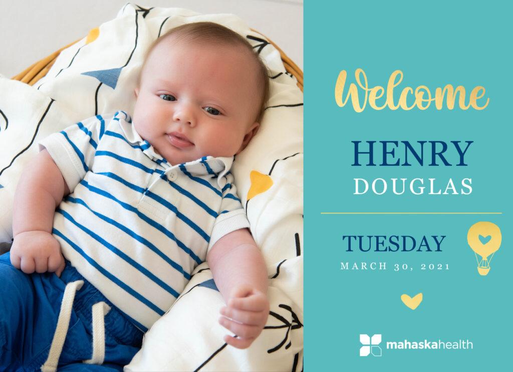 Welcome Henry Douglas! 6