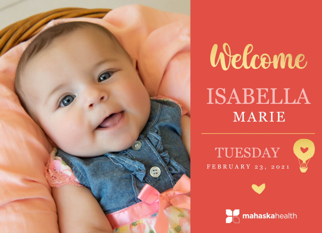 Welcome Isabella Marie! 6