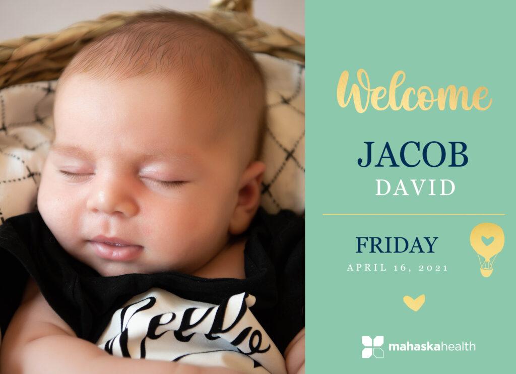 Welcome Jacob David! 6
