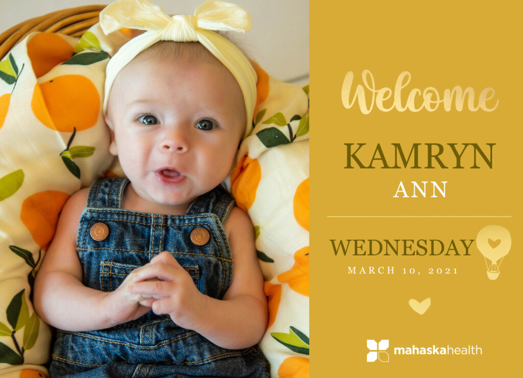 Welcome Kamryn Ann! 6