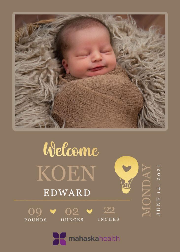 Welcome Koen Edward! 6
