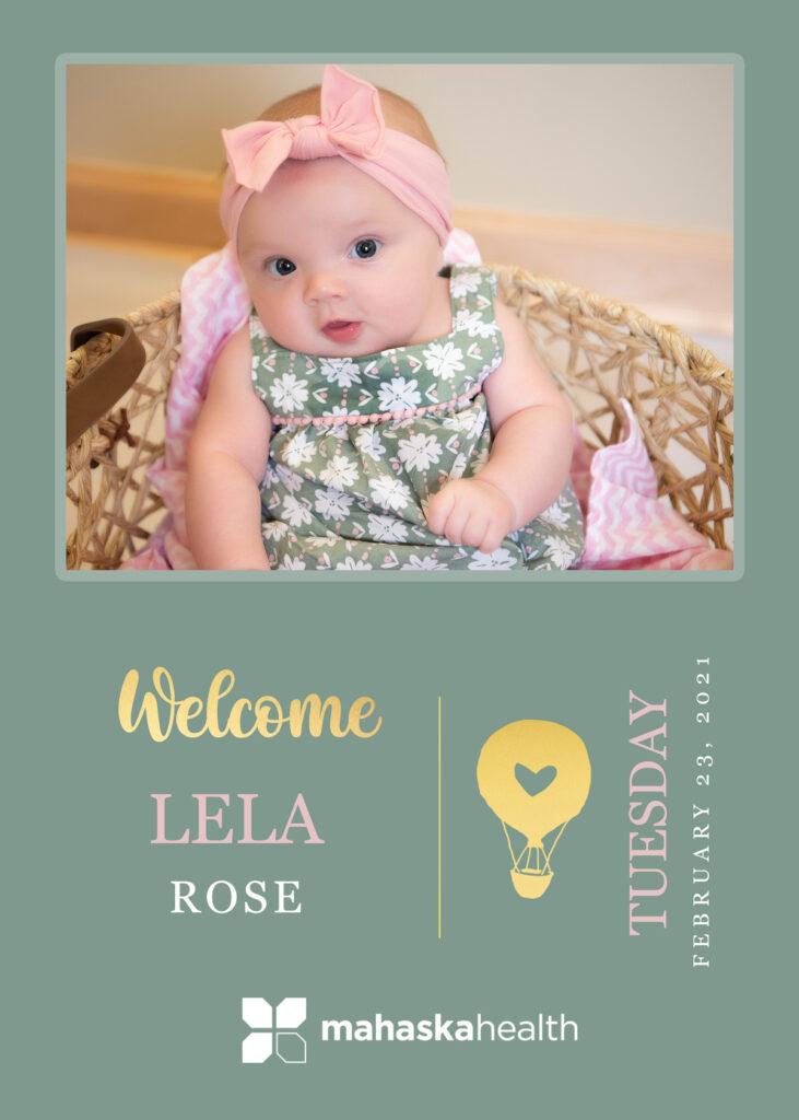 Welcome Lela Rose! 6