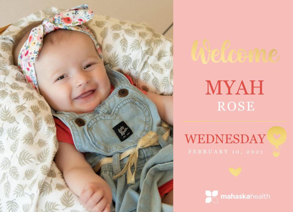 Welcome Myah Rose! 6