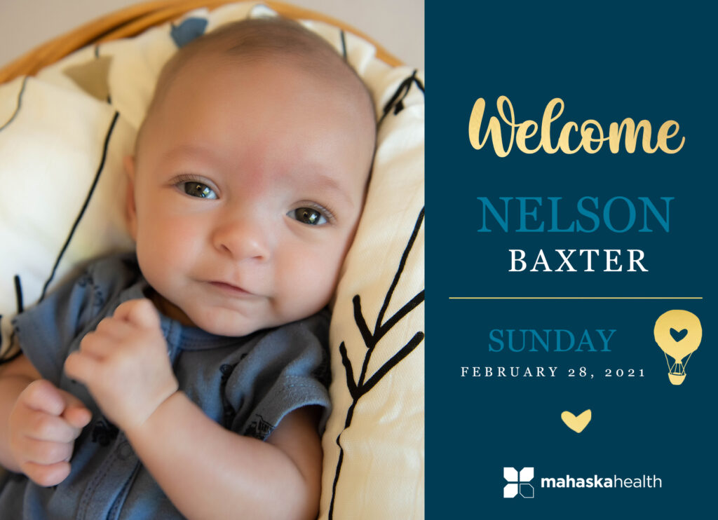 Welcome Nelson Baxter! 6