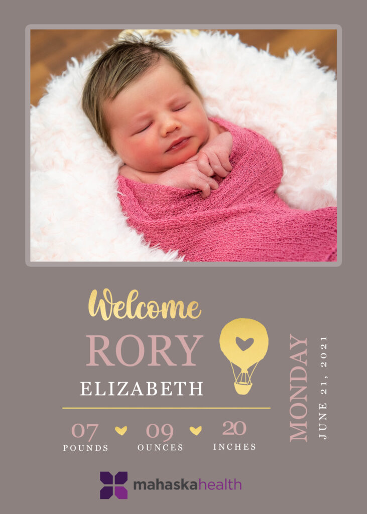 Welcome Rory Elizabeth! 6