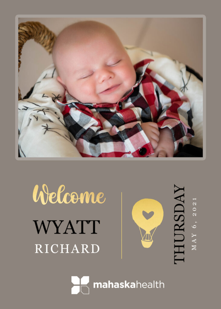 Welcome Wyatt Richard! 6