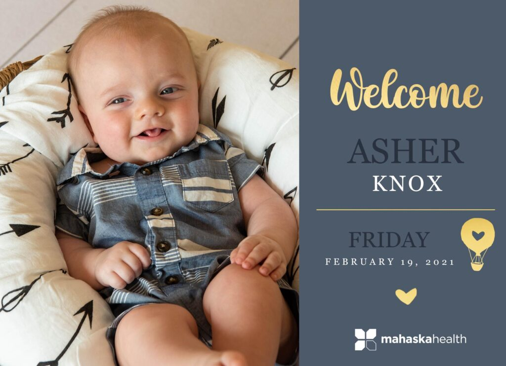 Welcome Asher Knox! 6