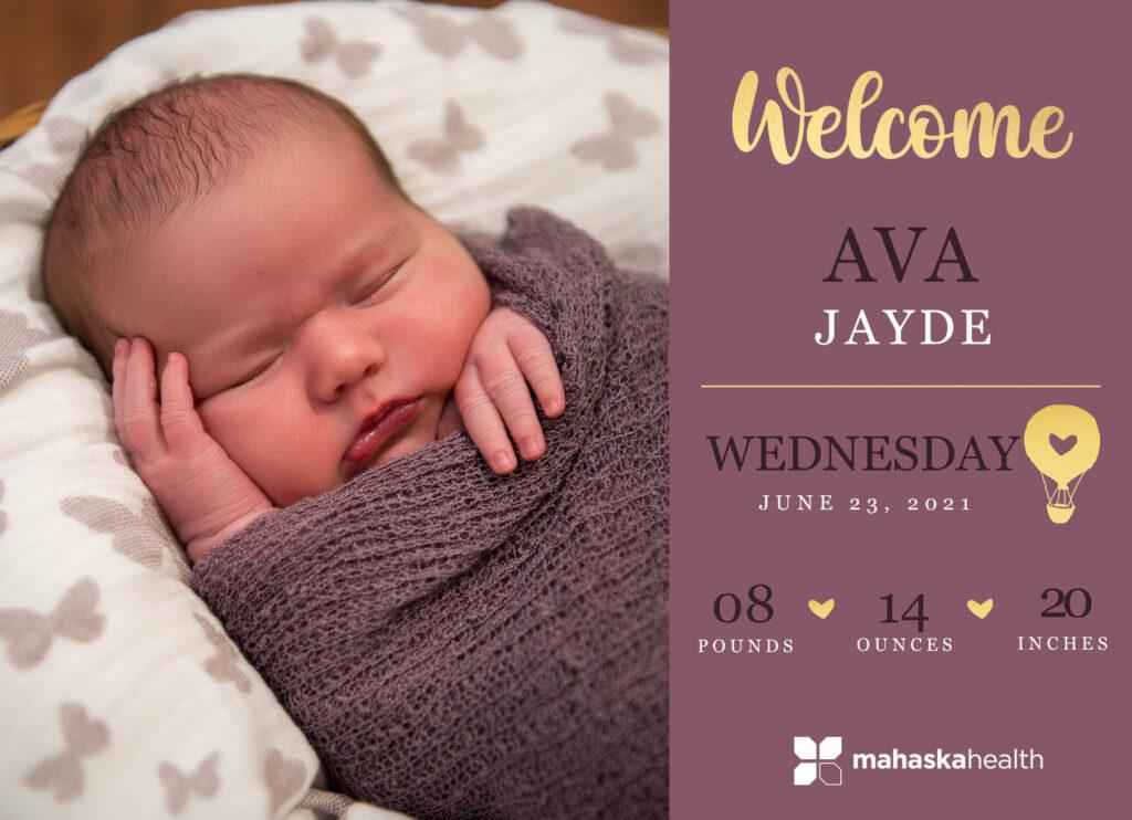 Welcome Ava Jayde! 6
