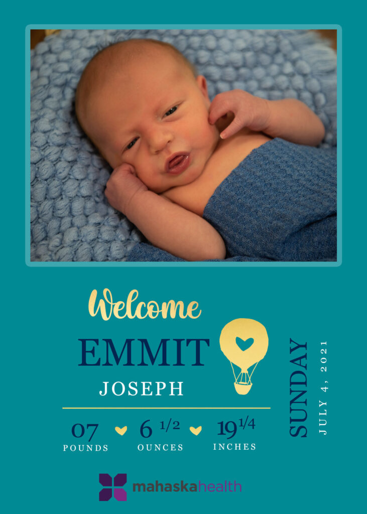 Welcome Emmit Joseph! 6