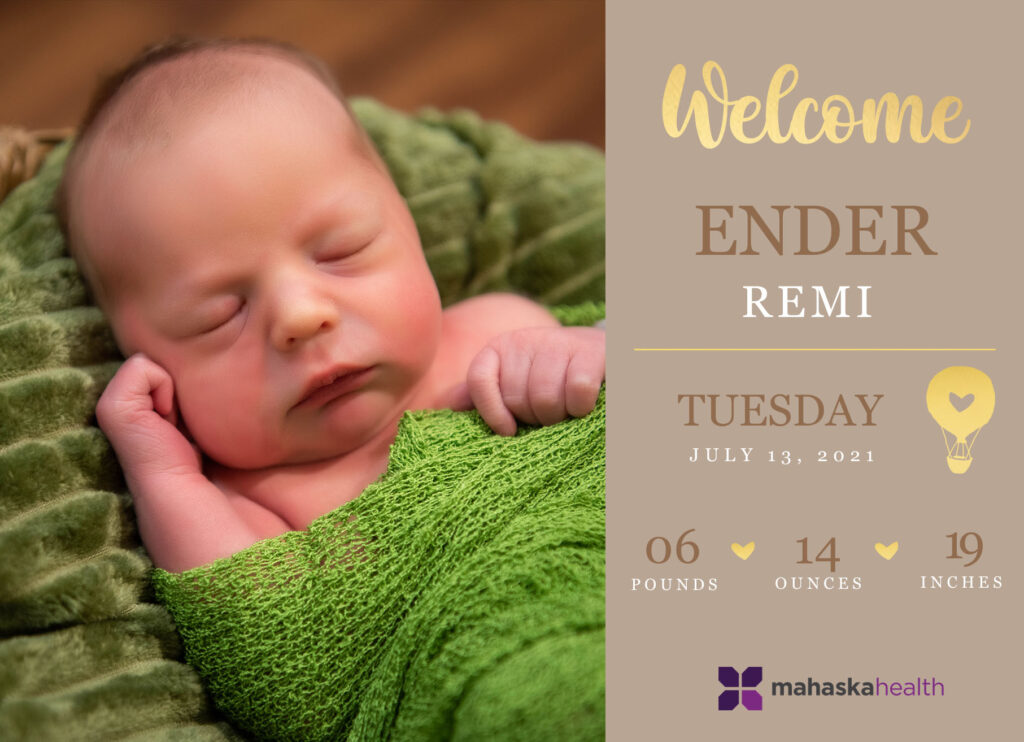 Welcome Ender Remi! 6