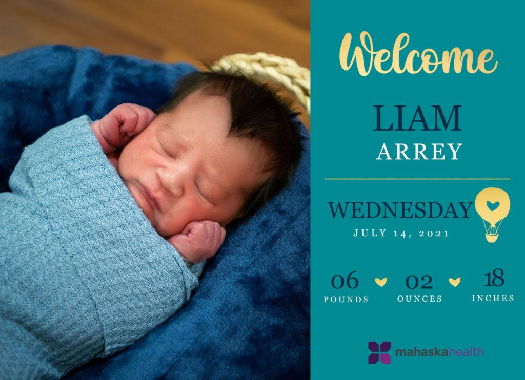 Welcome Liam Arrey! 6