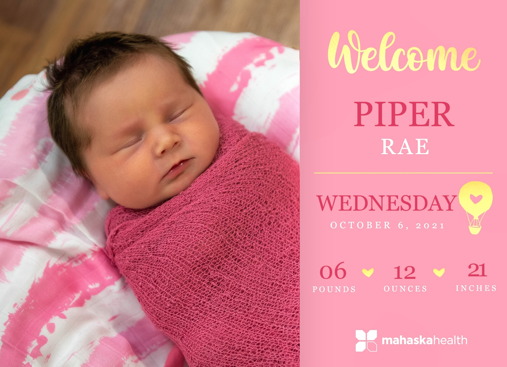 Welcome Piper Rae! 6