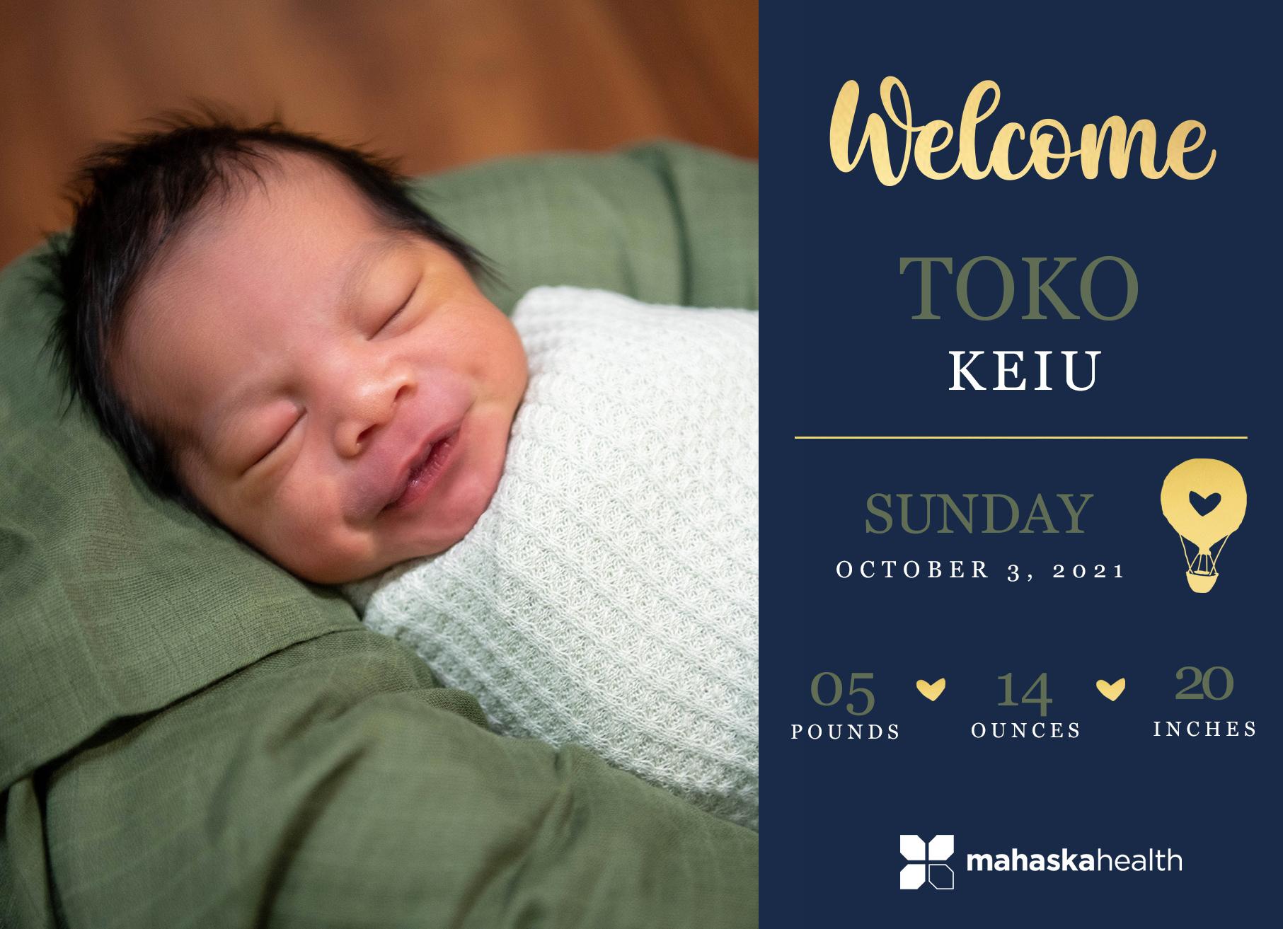 Welcome Toko Keiu! 6